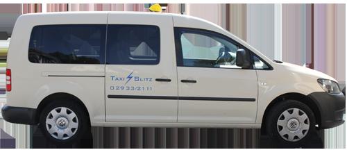 Taxi Rollstuhl Links